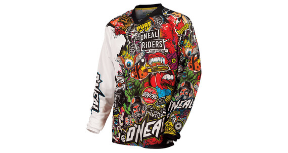 ONeal Mayhem Lite Crank Jersey Men black/multi